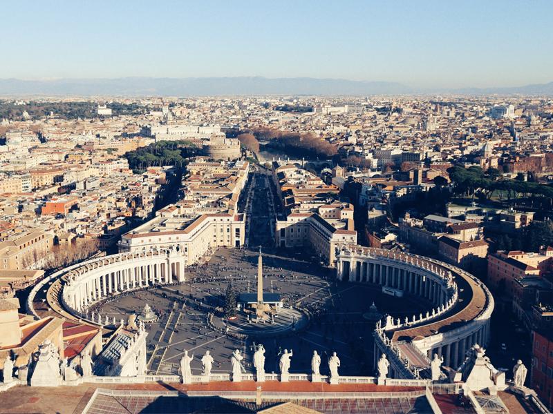 Trg Svetog Petra Rim Aviotag