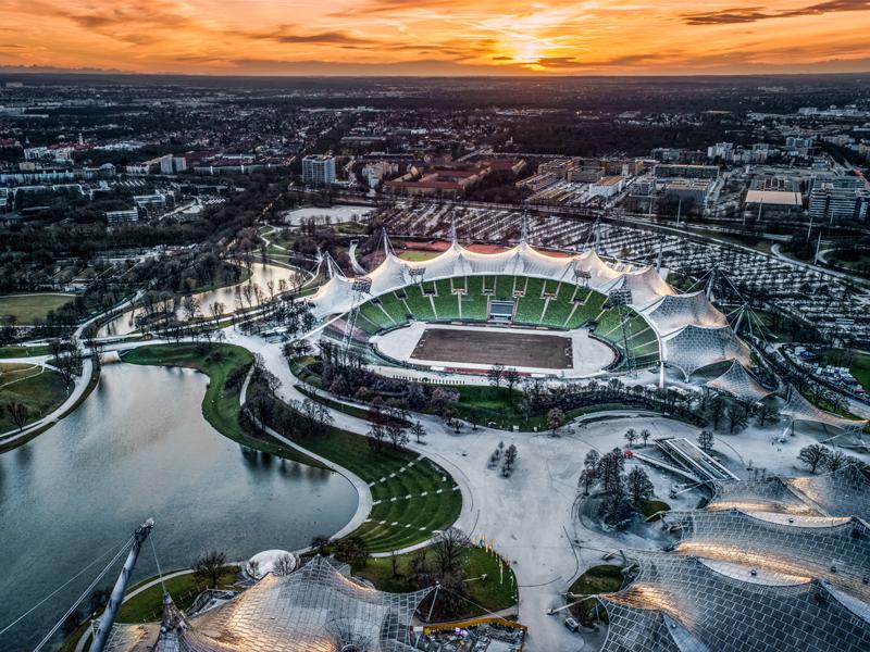 aviotag minhen olimpijski park