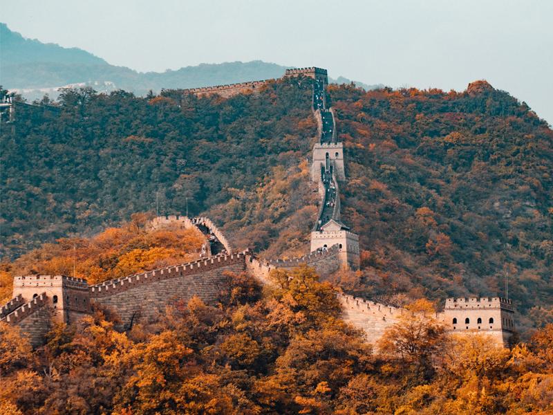kineski zid peking let za peking aviotag