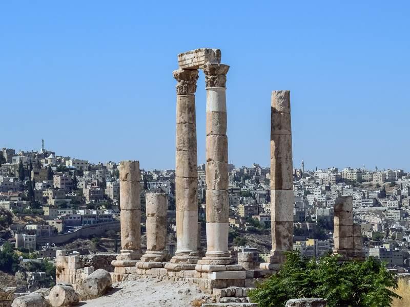 Herculesov hram, Aman, Jordan