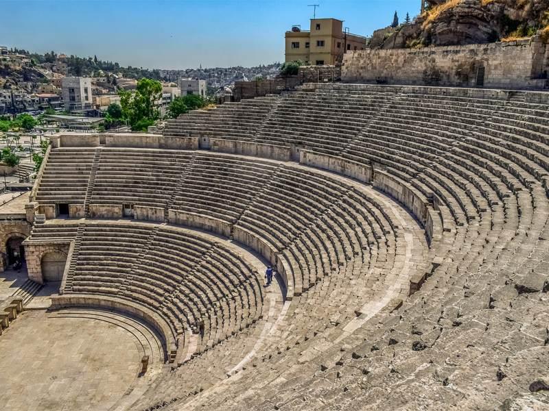 Rimski amfiteatar, Aman, Jordan