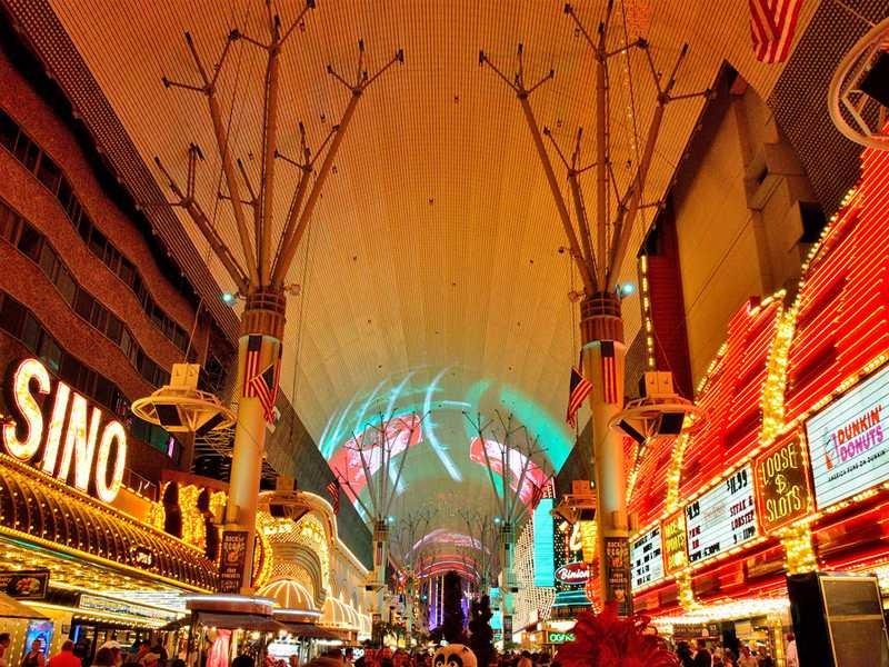 Fremont Street Experience Las Vegas aviotag
