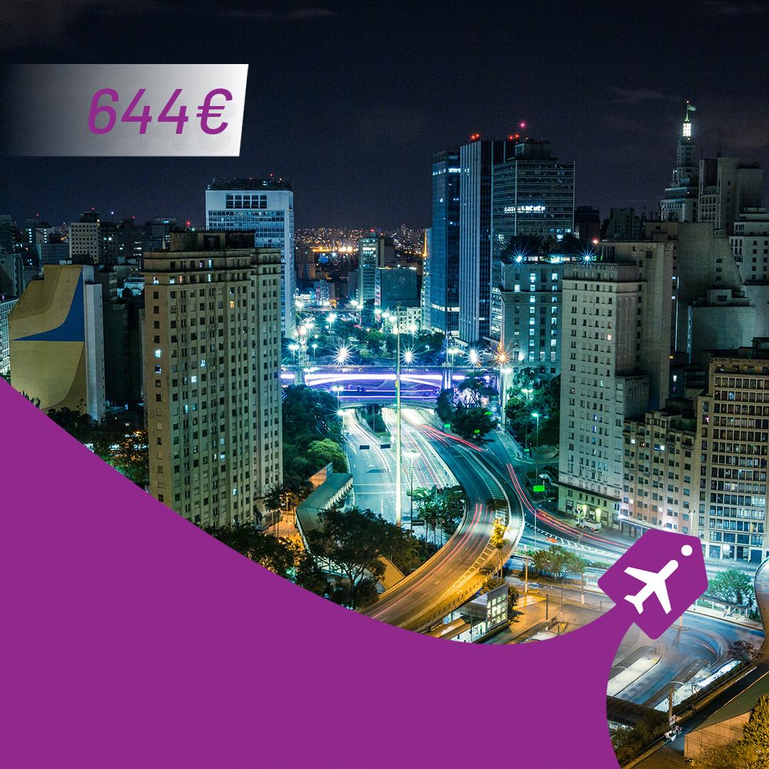 Beograd - Sao Paulo aviotag