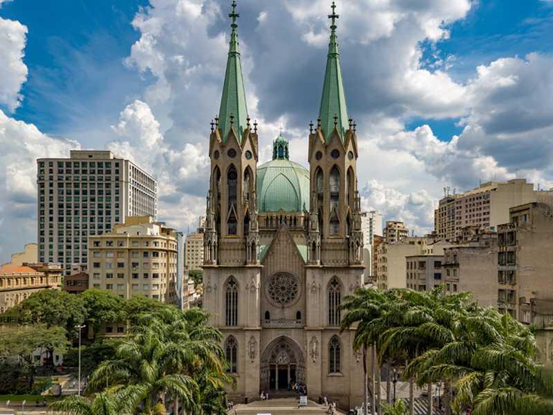 Catedral da Sé Sao Paolo aviotag aviokarte