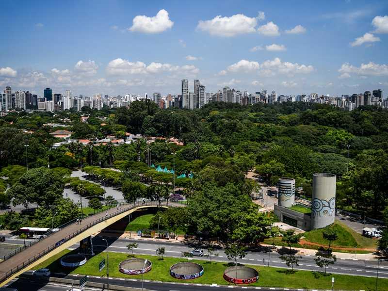 Ibirapuera Park Sao Paulo aviotag aviokarte
