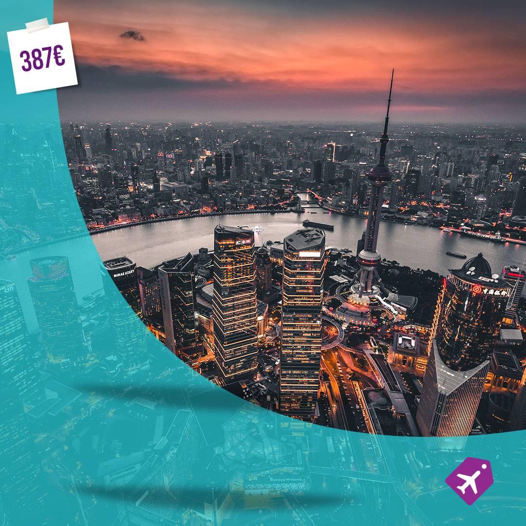 Beograd Sangaj letovi avio karte