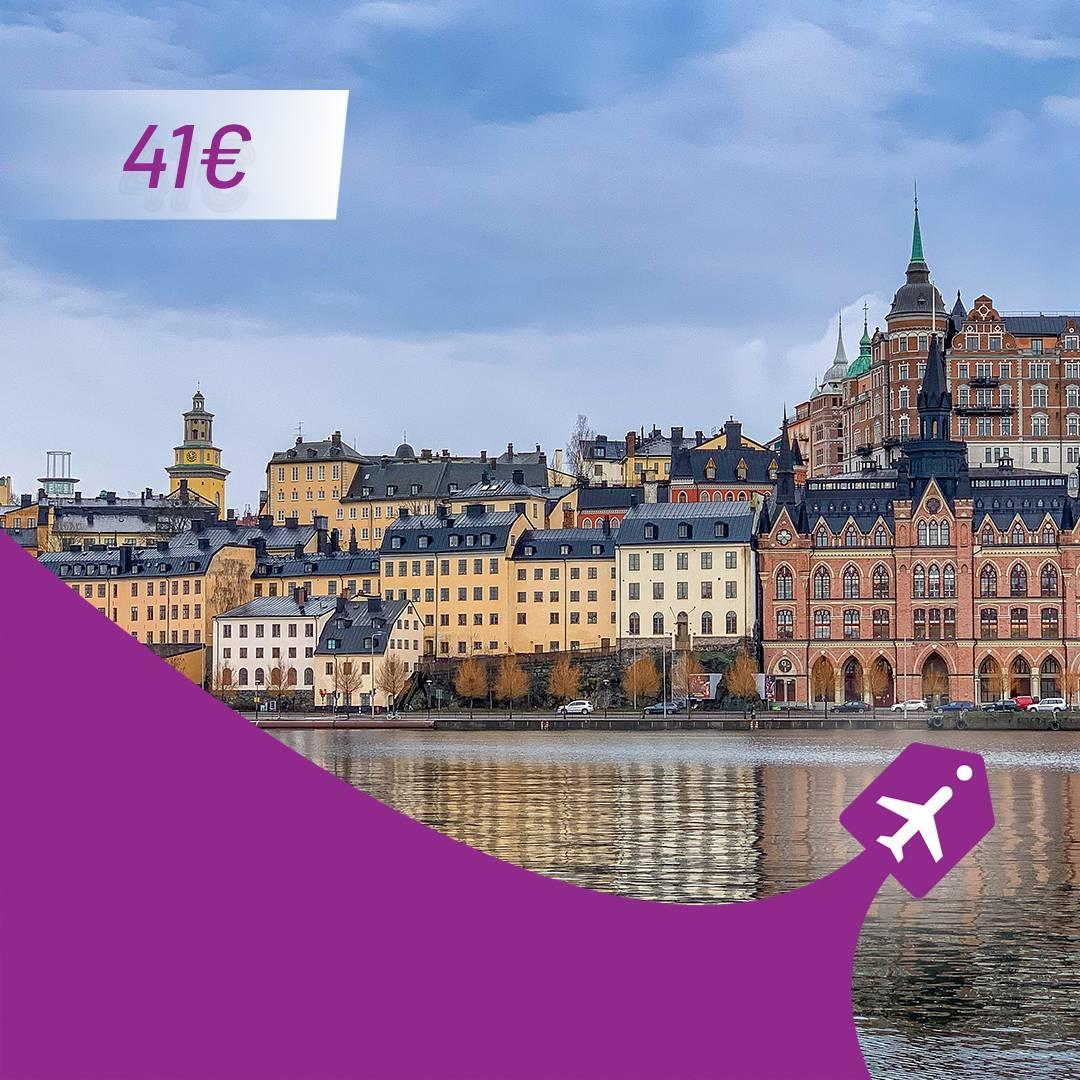 Letovi Niš Stokholm aviotag